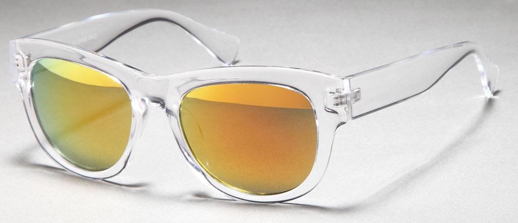 wayfarer sonnenbrillen transparent gl ser verspiegelt sportlich casual unisex. Black Bedroom Furniture Sets. Home Design Ideas