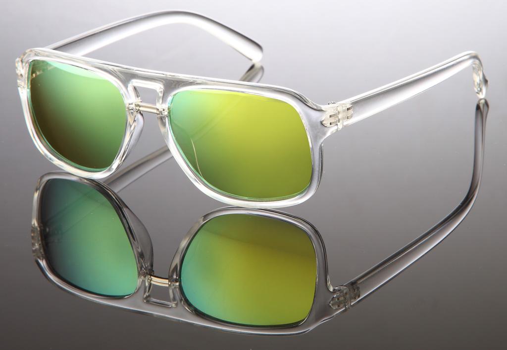 wayfarer sonnenbrille transparent bunte gl ser gl ser verspiegelt kunststoffgestell. Black Bedroom Furniture Sets. Home Design Ideas