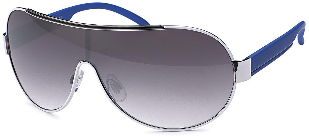 gil design modische sonnenbrille mit monoglas blauen. Black Bedroom Furniture Sets. Home Design Ideas