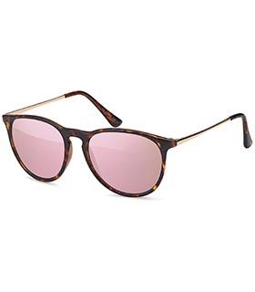 trendige sonnenbrille mit pinken gl sern. Black Bedroom Furniture Sets. Home Design Ideas